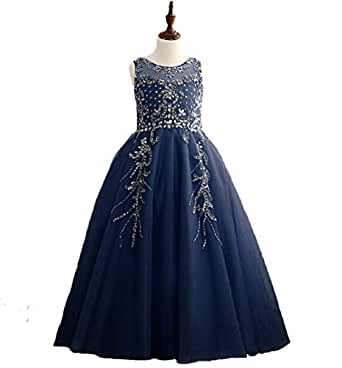 Amazon.com: Lady Dress Summer Sleeveless Pageant Long