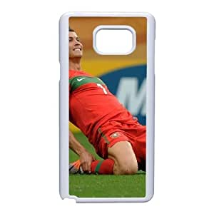 Protection Cover Samsung Galaxy Note 5 Cell Phone Case White Kkrfk Cristiano Ronaldo Personalized Durable Cases