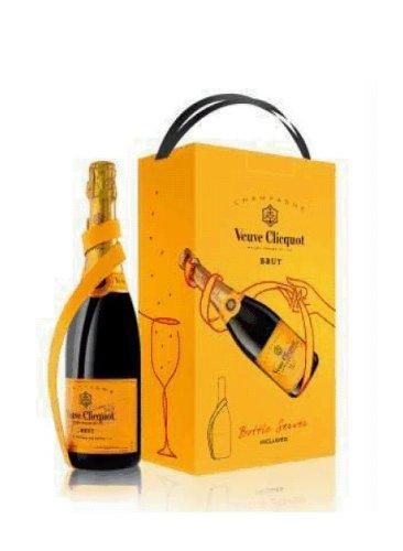 Veuve Clicquot Brut mit Bottle Server 0,75l 12% Flasche