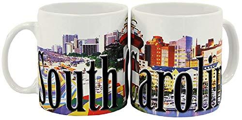 Americaware SMSCA02 South Carolina Full Color Relief Mug44; 18 ()