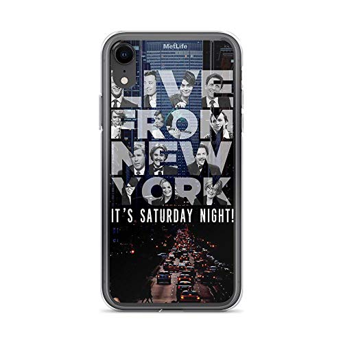iPhone XR Pure Clear Case Cases Cover Live from New York, Saturday Night Live