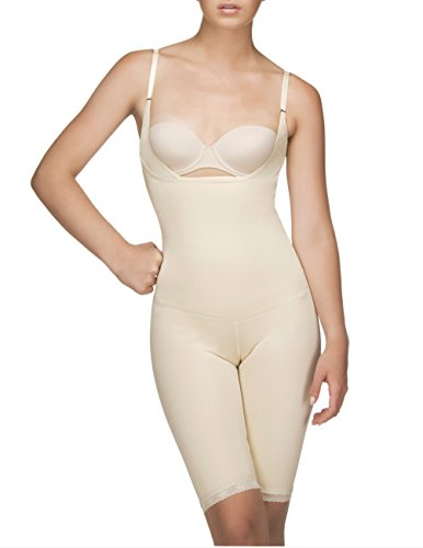 Vedette Womens Shapewear 104 Stephanie Full Body Shaper (XL (40), Nude)
