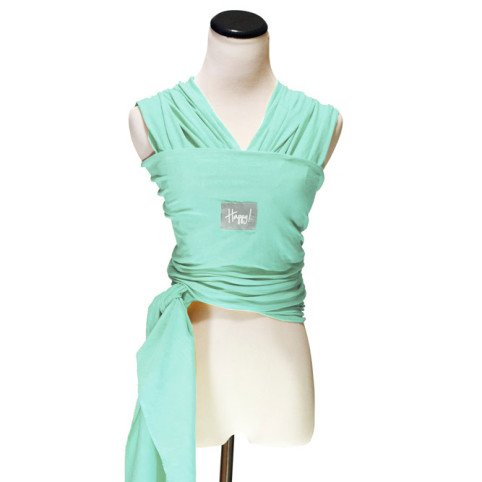 Happy Wrap Organic Baby Carrier, Seafoam