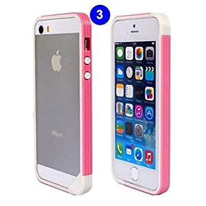 HP DFHigh-end TPU Spell Color Bumper Frame for iPhone 4/4S , 10