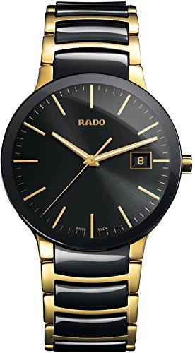 Rado Men's'Centrix' Quartz Stainless Steel Casual Watch, Color:Two Tone (Model: R30929152)