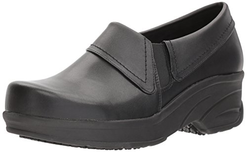 Easy Works Women's Assist Health Care Professional Shoe, Black, 8 W US by Easy Works
