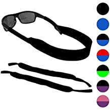 Sunglasses and Glasses Safety Strap - 2 Pack | Anti-Slip and Fast Drying Active Sport Glasses Strap | COLORS