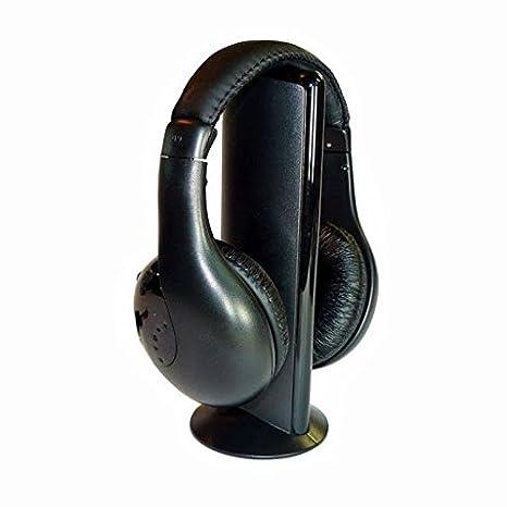 CEXPRESS - Cascos auriculares inalámbricos para tv con micrófono: Amazon.es: Electrónica