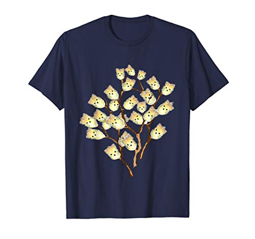 Cats On Tree T Shirt, Funny Tee Gift Willow Cat Plant Kitten T-Shirt