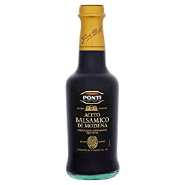 Ponti Balsamic Vinegar Of Modena 12 Months Matured - 250ml (8.45fl oz) 3 250ml - (8.45 fl oz) Ponti *Please not Best Before/Expiration UK is DD/MM/YYYY