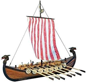 Artesanía Latina 19001N. Maqueta de Barco en Madera Viking 1/75: Amazon.es: Juguetes y juegos