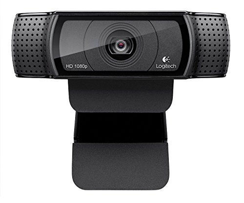 Logitech HD Pro Webcam C920, 1080p Widescreen Video Calling and Recording-(Certified Refurbished) …