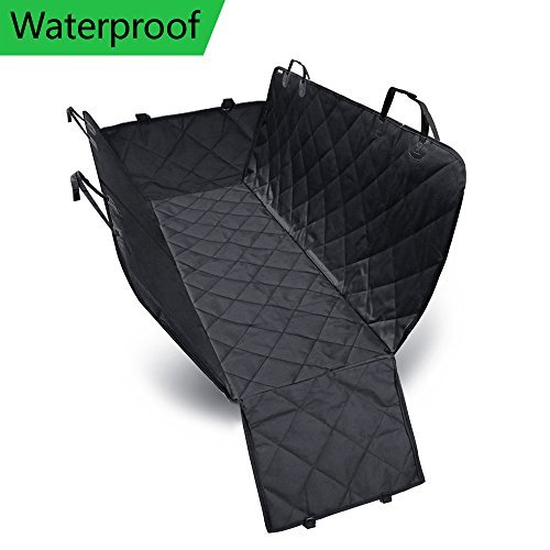 Cheap Pet Seat Cover with Flaps Dog Seat Cover Protector Hammock Bench Convertible Waterproof Non-slip Pet Back Seat Cover for Car SUV and Truck