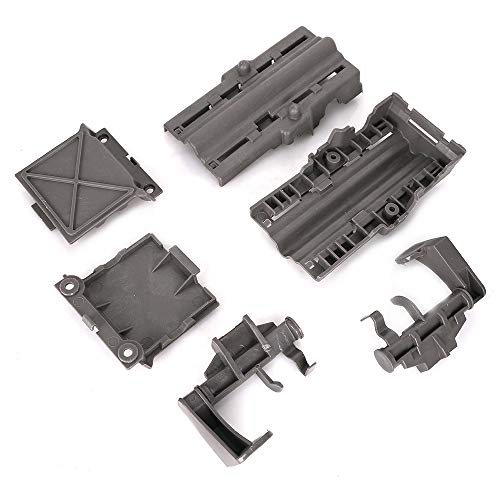 W10712395 Dishwasher Rack Adjuster Kit for Whirlpool, Kenmore and  KitchenAid Dishwashers- Replace W10250159, W10350375, W10350375,  W10712395VP,