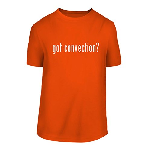got convection? - A Nice Men's Short Sleeve T-Shirt Shirt, Orange, Large (Oster Convection Recipes Oven)