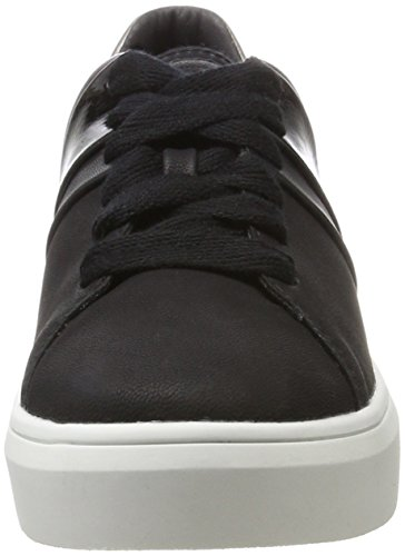ESPRIT Damen Elda Lace up Sneaker Schwarz (Black)