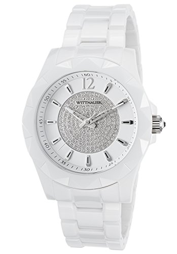 (Wittnauer White Ceramic Crystal Dial Watch WN3016 )