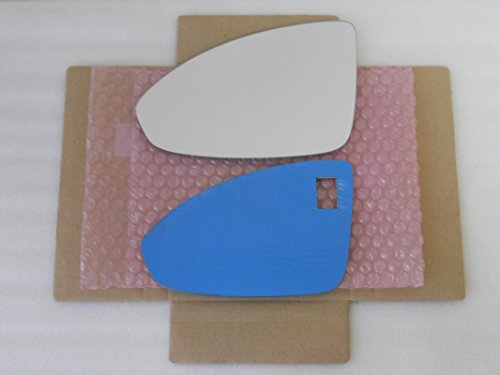 New Replacement Mirror Glass with FULL SIZE ADHESIVE for Chevrolet Cruze Driver Side View Left LH