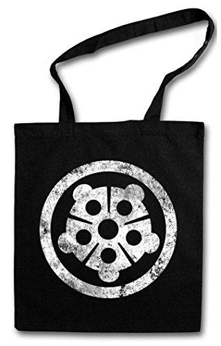 HAMATO CLAN Hipster Shopping Cotton Bag Cestas Bolsos Bolsas de la compra reutilizables - Giappone Teenage Tortues