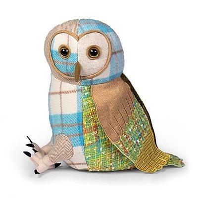 Dora designs Chouette Effraie Cale porte Motif patchwork