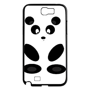 Customized Durable Case for Samsung Galaxy Note 2 N7100, Panda Phone Case - HL-R655068