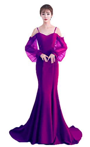 Purple Capped Sleeve Bodice - 5
