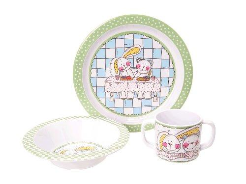 独創的 Vera Bradley Baby Dish Set by Vera Set Vera by Bradley B00DRA0K14, AVANCE アヴァンス:aae251d2 --- a0267596.xsph.ru