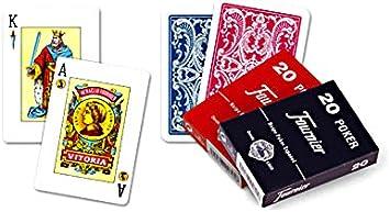 Fournier Outletdelocio. Pack de 2 Baraja española de Rabino-Remigio 55 Cartas. Total 110 Cartas: Amazon.es: Juguetes y juegos