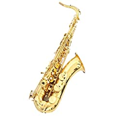 Professional bb gold lacquer tenor saxophone Chinese high quality tenor sax  1.Surface Material:Gold Lacquer 2.Body Material:Brass 3.Head Material:Bakelite 4.Tone:Bb 5.Finish:Gold Lacquered 6.Color:Gold