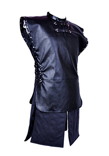CosTop Game of Thrones Jon Snow Knights Watch Cosplay Costume for Man and Child, Medium by BEAUTY PLUS (Image #2)