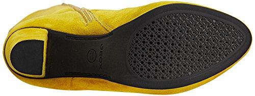 de mujer Gelb D Geox KALI D C2022 ACID cuero amarillo Botas clásicas YELLOW wz0FXpq
