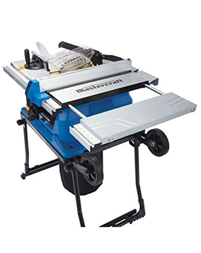 Mastercraft portable table saw 15a amazon tools home improvement greentooth