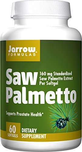Jarrow Formulas Saw Palmetto, for Prostate Health, 60 Softgels Pack of 2