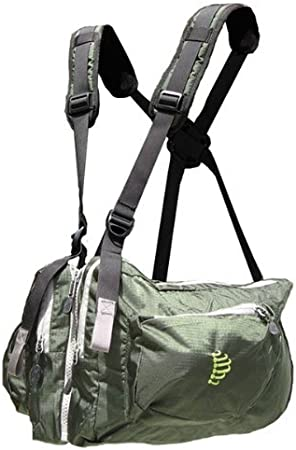 Ribz Front Pack , Alpine Green, L, 34-38 w, 11 liter, GRN-L-1122 by Ribz: Amazon.es: Deportes y aire libre