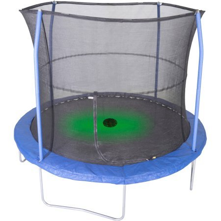 Jumpking-Durable-oversized-Safety-Pad-Trampoline-with-Sound-and-Light-10-4-Legs