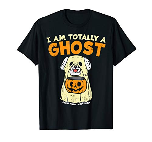 Bichon Frise Halloween Costumes (Bichon Frise Totally Ghost Funny Halloween Costume Dog Owner)