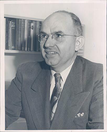 1947 Photo Fred H Rhodes Seattle Schools Portrait Professor University WA 8x10