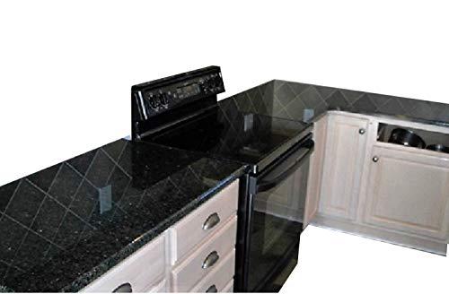 Faux Black Granite Marble Look to Update Countertop Film 36