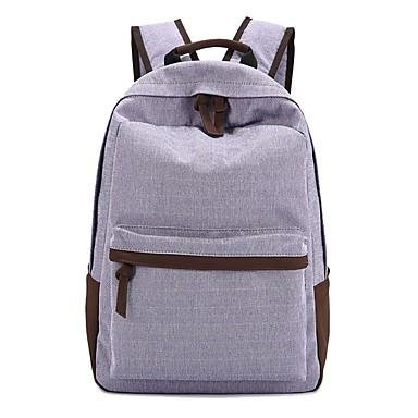 WZW Hombres Canvas All Seasons Deportes Casual Bolsa al aire libre . light blue purple