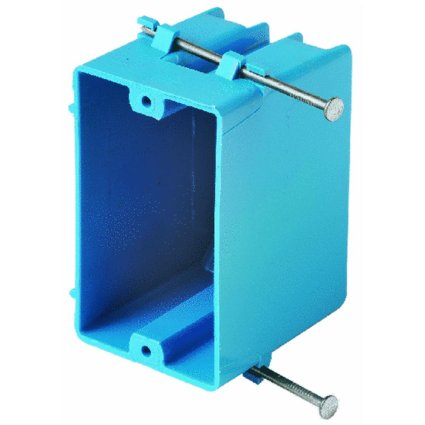 Pvc Switch Box - Thomas & Betts B118A 18 CU. in. 1-Gang Zip Box (Pack of 100)