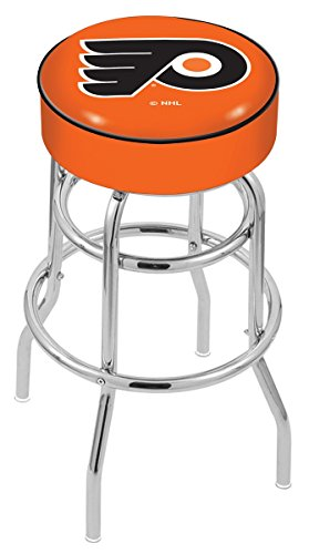 NHL Philadelphia Flyers (orange) 30'' Bar Stool by Covers by HBS