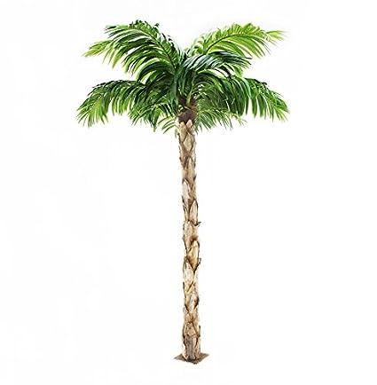 Calidad Artificial palmera peruana de 8 pies de altura, Replica interior / exterior - 240