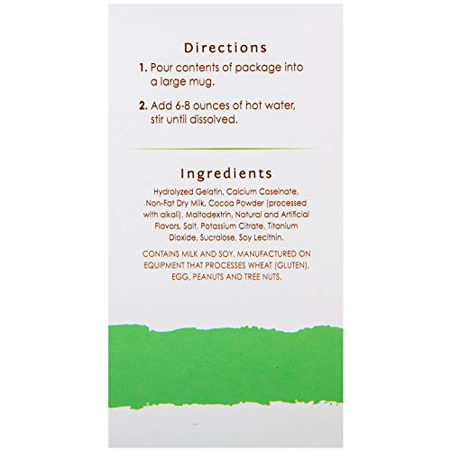 BariWise High Protein Hot Cocoa - Instant Low-Carb, Low Calorie Hot Chocolate Mix with 15g Protein - Mint (7 Count) 2