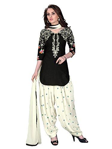 Ready Made Patiala Salwar Embroidered Cotton Salwar Kameez Suit India/Pakistani Dress OF (MEDIUM) (LARGE) Salwar Kameez Suit