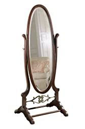 Powell Heirloom Cherry Cheval Mirror
