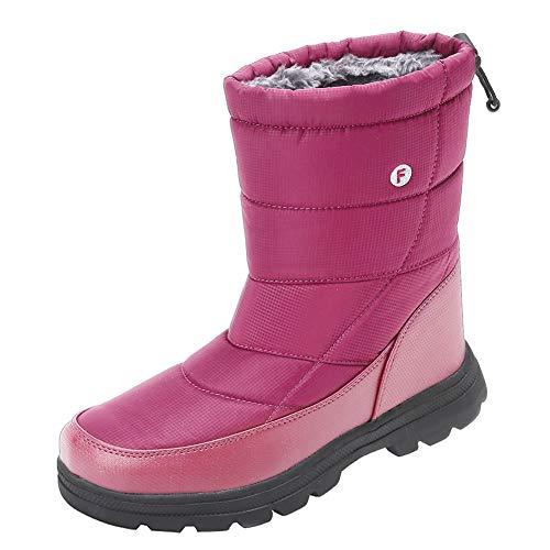 b79753083861 Jual Men and Women s Waterproof Snow Boot Drawstring Cold Weather ...