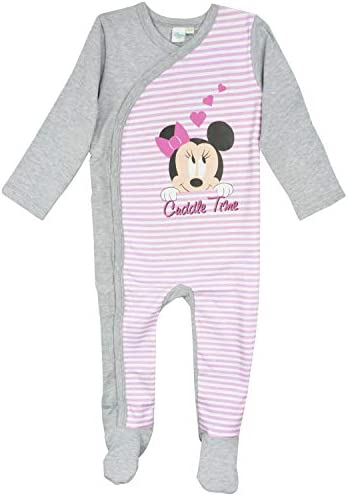 Disney Minnie Mouse - Mädchen Baby Overall Cuddle Time!