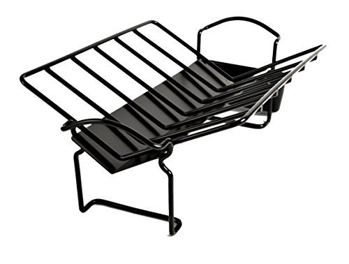 Charcoal Companion CC3093 Non-Stick Roasting Rack with Juice Reservoir