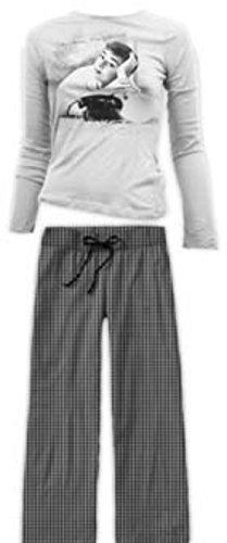 Audrey Hepburn telefono pigiama large