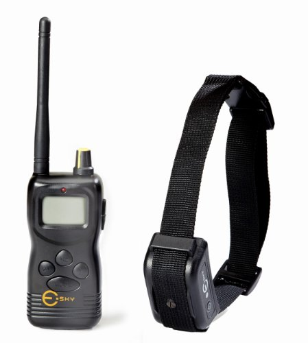 Esky 1000M Rechargeable LCD Multi-Dog Remote Control Training Collar System with Multiple Mode Combinations